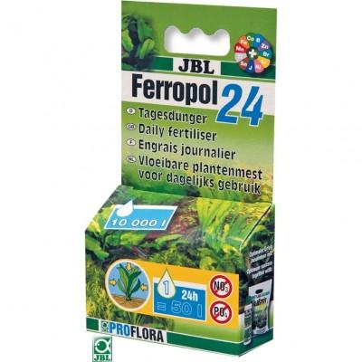 Fertilizant lichid JBL Ferropol 24 10ml pentru 10000l