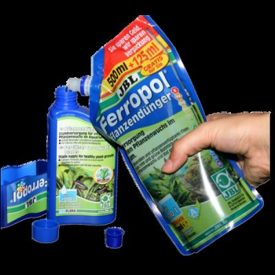 Fertilizant plante acvariu JBL Ferropol Refill 625ml pentru 2500l