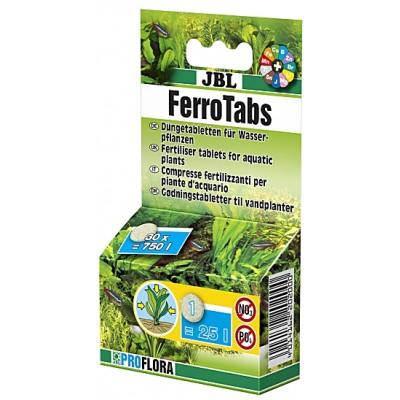 Fertilizant pastile JBL Ferrotabs 30 tablete pentru 750l