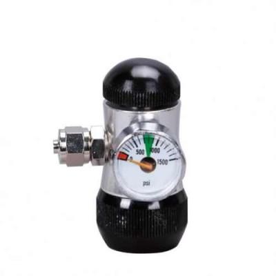ISTA - Regulator presiune CO2, 1 manometru, butelie iesire in sus