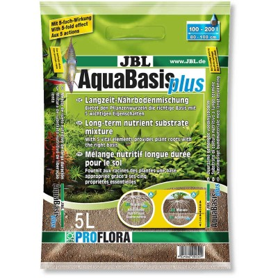 Fertilizant substrat JBL Pro Flora AquaBasis plus 5l