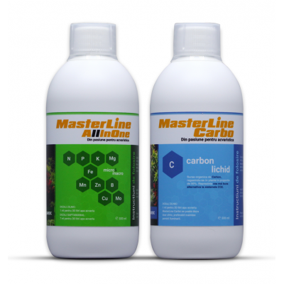 Set fertilizanti MasterLine All In One 500ml si MasterLine Carbo 500ml