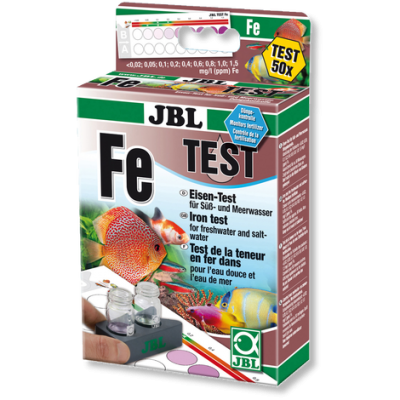 Test de apa JBL Fe - Fier