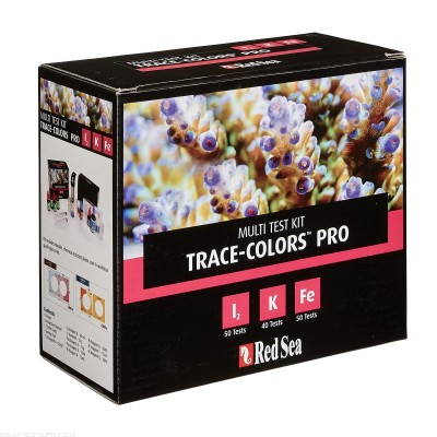 Red Sea Coral Colors PRO Multi Test Kit - box (I2,K,Fe)
