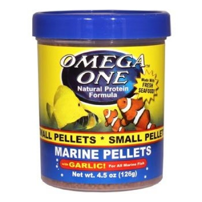 Omega One Marine Pellets Whit Garlic  126g