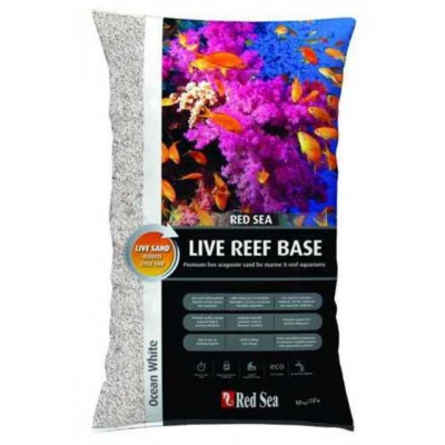Nisip Viu Red Sea Live Reef Base-White 10kg