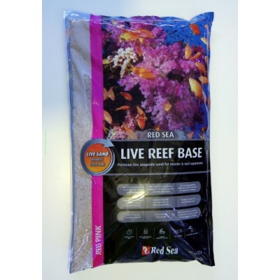 Nisip Viu Red Sea Live Reef Base-Pink 10kg